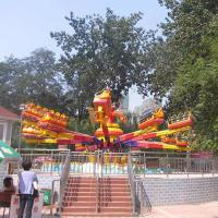 Wholesale Thrilling Outdoor Play Equipment Crazy Bounce Ride High Lift 3.5m from china suppliers