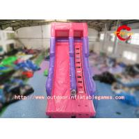 Wholesale Giant Backyard Inflatable Water Slide For Kids Outdoor Activities 0.55 mm PVC from china suppliers