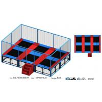 China Chinese Senjun 41M2 Kids Indoor Bungee Park/ Indoor Gymnastic Trampoline/ Trampoline Park for Super Mall on sale