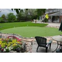 Wholesale Light Green Commercial Area Decorative Artificial Grass With C Shape 3 / 16'' Fire Resistance from china suppliers