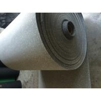 Wholesale Comfortable Rubber Sheet Roll Anti Skid Customized / Grey Speckled Color from china suppliers