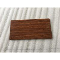 Wholesale Waterproof Wood Grain Aluminium Composite Panel Lightweight Building Materials  from china suppliers
