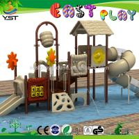 Wholesale Happy Plastic Water Slide 1010 * 410 * 465 CM Skid Proof ROHS Approved from china suppliers