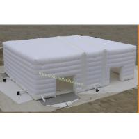China Inflatable Tent for Wedding , White Inflatable Camping Tent Inflatable Tent for Event on sale