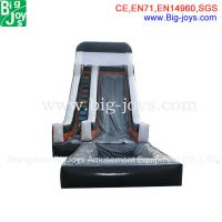 Wholesale inflatable wet and dry slide, single line slip & dip, outdoor inflatables from china suppliers