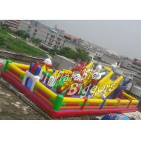 China Backyard Children Inflatable Fun City Inflatable Game Toys For Birthday Party on sale