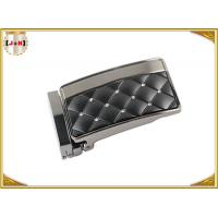 Quality Zinc Alloy Metal Reversible Belt Buckle With Clip , Embossed Rhinestone Belt Buckle for sale
