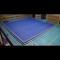Wholesale Compact Blow Up Gymnastics Mat , Thick Gymnastics Tumble Track At Home from china suppliers