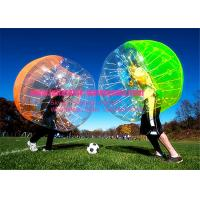 China Durable Human Inflatable Bumper Bubble Ball Hire For Family / Business on sale