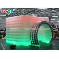 Wholesale Double LED Strips Camera Shape Inflatable Photo Booth for Trade Show from china suppliers