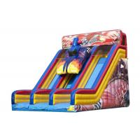 China Entertainment Large Blow Up Slide For Commercial Or Personal 8.23 * 5.95 * 6.48m on sale