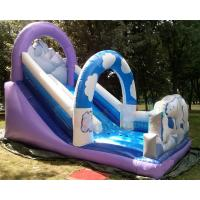 Quality Polar Bear Inflatable Bouncy Castle With Slide Fully Digital Printing for sale