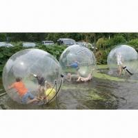 Buy cheap Water Sphere or Water Walking Ball with 3 Years Warranty, CE, UL, SGS and EN71 from wholesalers
