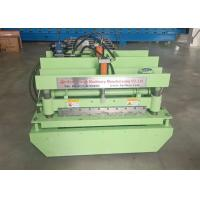Wholesale High Speed Glazed Tile Roll Forming Machine Siemens PLC Control 12 Rollers from china suppliers