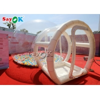 Wholesale Commercial Inflatable Transparent Bubble Camping Tent for ourdoor from china suppliers