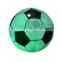 Promotion 50cm PVC inflatable glow football
