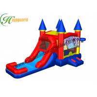 Wholesale Kids Kinds Theme Outdoor Pool Water Slide With Bounce House Rental 10 x 2.5 x 4 m from china suppliers