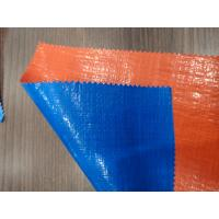 Buy cheap Crack Resistant Polyethylene Tarpaulin Materials Fabrics SGS / ISO9001 Certified from wholesalers