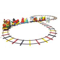 Wholesale 220v 50hz Electric Theme Park Trains Equipment 500cm with 10m Rail Dimention from china suppliers