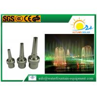 China Single Jet Water Fountain Nozzles Stainless Steel DN20 / DN80 Connection on sale