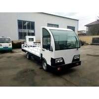 Wholesale Customized Electric Platform Truck , Enclosed Cab battery operated platform truck from china suppliers