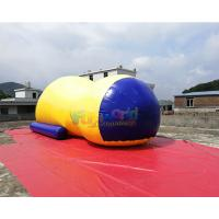 China 10x3.6x3 Meter Inflatable Water Blob Jumping Pillow Inflatable Water Toys For Lake on sale