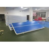 Quality Custom Drop Stitch Material Inflatable Air Track For Sport Train for sale