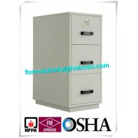 Wholesale Metal Locking Fireproof File Cabinet Three Drawer 1 Hour Fire Rating from china suppliers