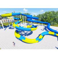 Wholesale High Platform Water Park Design Slide , Amusement Park Design Construction Team from china suppliers