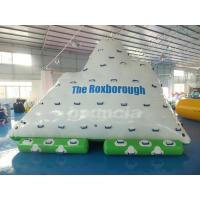 Wholesale One Side Sliding and Three Sides Climbing Inflatable Water Iceberg from china suppliers