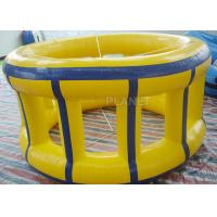 China Adults Inflatable Water Games Floating Wheel Roller For Entertainment on sale