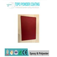 Buy cheap Low Glossy Red Color Electrostatic Epoxy Polyester Powder Coating RAL3011 from wholesalers