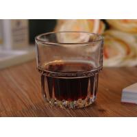High Quality Michine Pressed 250ml Whiskey Glass Cup Juice Glass Cup For Drinking Glass