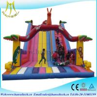 China Hansel 2017 hot selling PVC outdoor play area giant blow up ball on sale