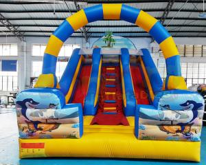 Wholesale Commercial Giant Wholesale Children Bounce House Inflatable Slide from china suppliers