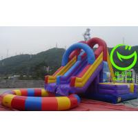 China 2016 Hot sell Inflatable water slide with pool with 24months warranty from GREAT TOYS on sale
