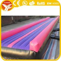 Wholesale inflatable air tumble track inflatable tumble from china suppliers