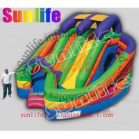 Wholesale hot sell inflatable jumper slide combo com041 from china suppliers