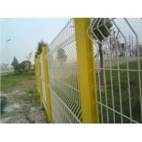 China 3d Curved Highway Fence , Heat Treated Galvanized Wire Mesh Fence Eco Friendly on sale