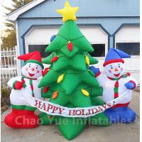 Wholesale 2015 Hot Sale Inflatable Christmas Tree Snowman Decorations for Christmas Holiday from china suppliers