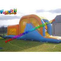 China Giant Inflatables Obstacle Course , Kids / Adluts Ostacle Game on sale