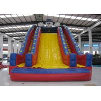 China Quadruple Stitching Commercial Inflatable Water Slides Clown Design General inflatable high slide on sale on sale