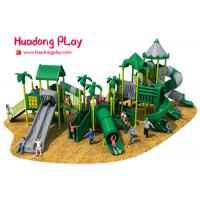 Buy cheap Commercial Funny Happy Outdoor Playground Slides , Big Outdoor Playground Toys from wholesalers