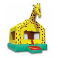 Wholesale Customized Outdoor Giraffe Inflatable Jumpers Bouncers For Kids Party from china suppliers
