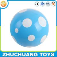 Wholesale pvc color spray inflatable painting giant beach ball from china suppliers