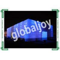Wholesale Customized Inflatable Oxford Cloth Tent  , Inflatable Led Tent Outdoor from china suppliers
