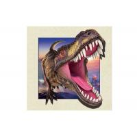 Wholesale Dinosaur Image 0.6mm PET 3d Lenticular Pictures For Decoration 40x40cm from china suppliers