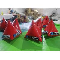 Wholesale Safety Red Inflatable Marker Buoy 1M / 1.2M / 1.5M Size Easy Operation from china suppliers