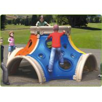 China Freestanding Outdoor Site Amenities , Contemporary LLDPE Climbing Play Structure on sale
