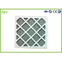 Quality Folded Activated Carbon Air Filter High Carbon Content With Aluminum Mesh Face for sale